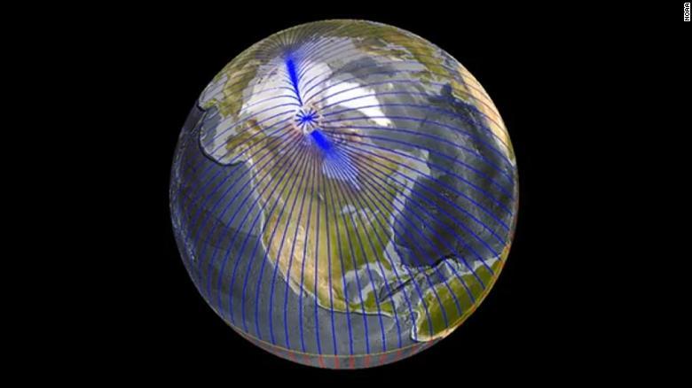 Sfarsitul umanitatii ? Oamenii de stiinta nu isi explica de ce polul nord magnetic se deplaseaza cu viteze fara precedent