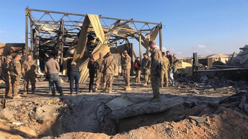 Exista americani raniti in urma atacului cu rachete de saptamana trecuta, desi intial Pentagonul declarase ca nu exista victime