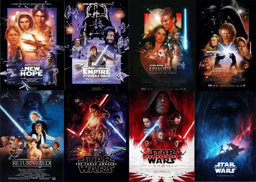 Ordinea filmelor Star Wars